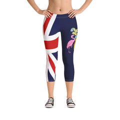 New Flag Capri Leggings