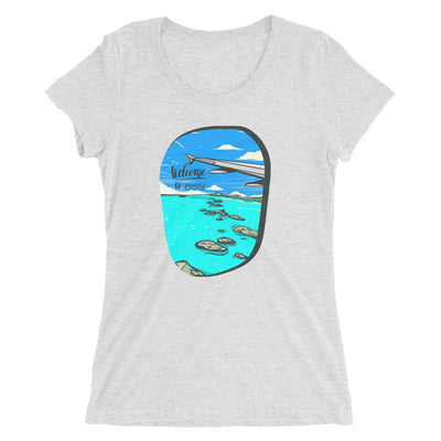Welcome To Paradise Women's' short sleeve t-shirt