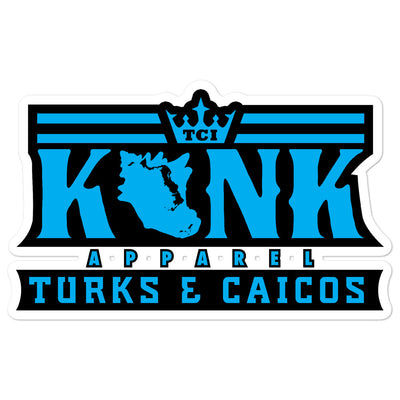 Konk Apparel Stickers (Blue)