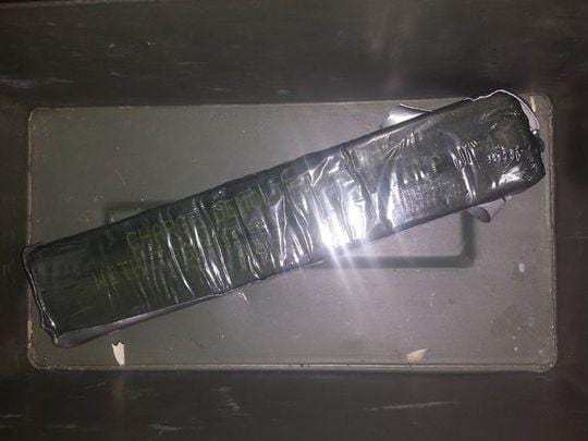 Police find military-issued C4 in reservist's apartment