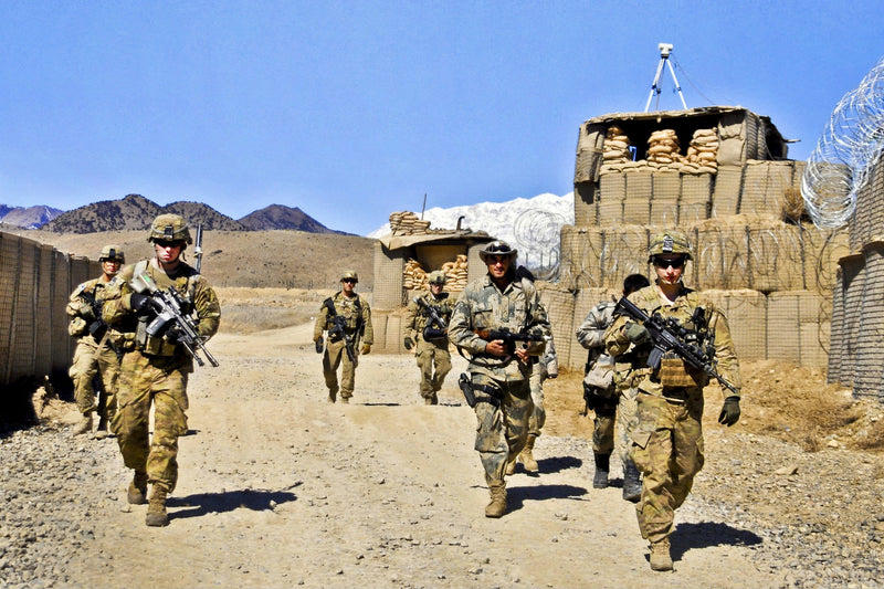 U.S. Forces to Stay in Afghanistan