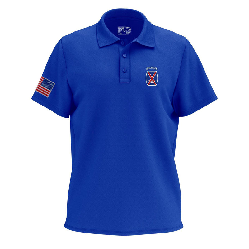 10th Mountain Polo Shirt