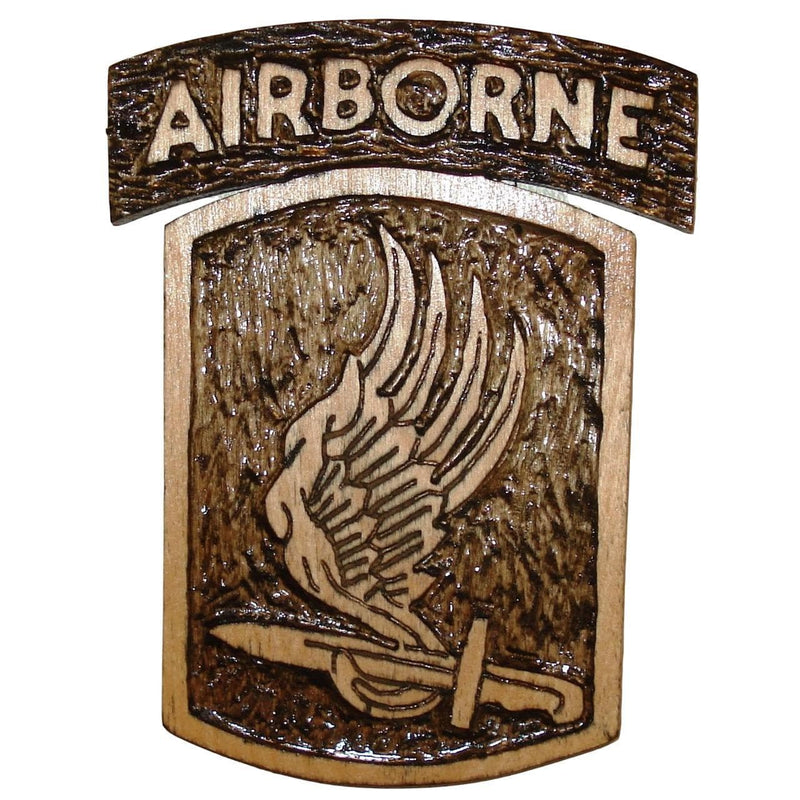 Hand Carved 173rd Airborne