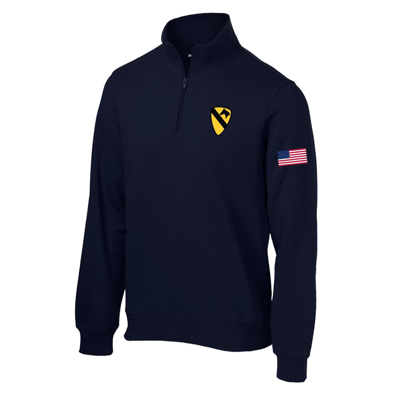 1st Cavalry1/4 Zip sweatshirt
