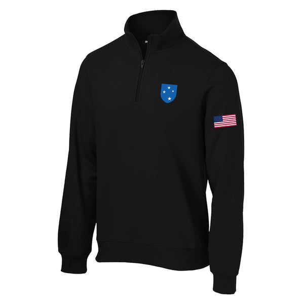23rd Infantry 1/4 Zip Sweatshirt