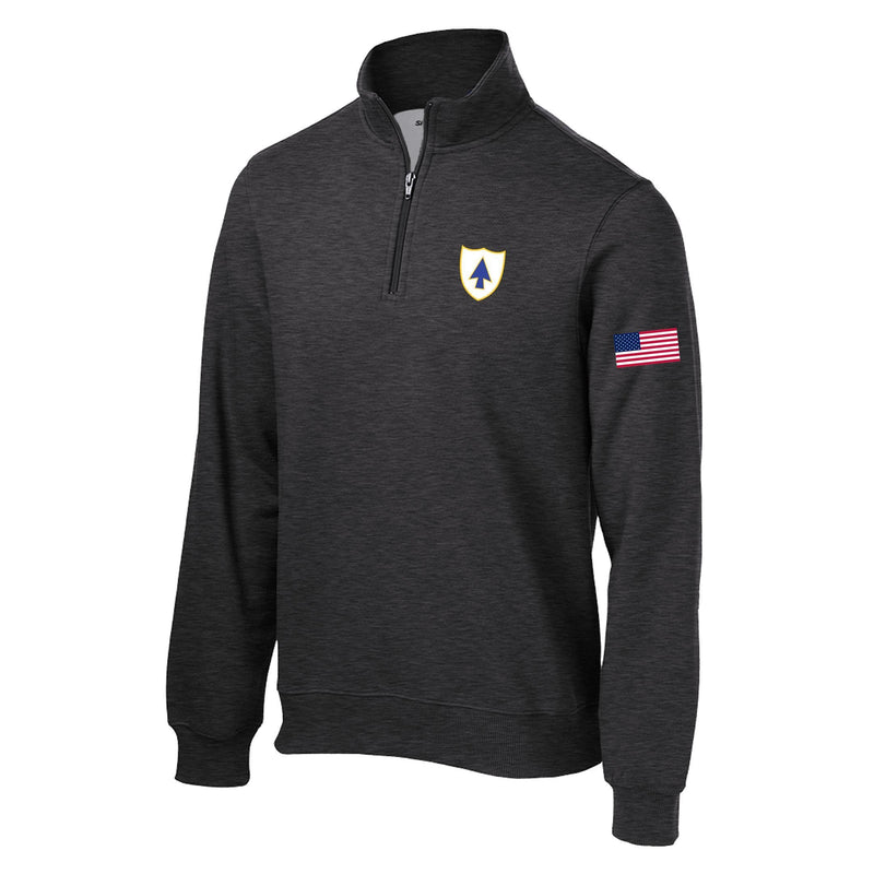 26th Infantry Regiment 1/4 Zip Sweatshirt