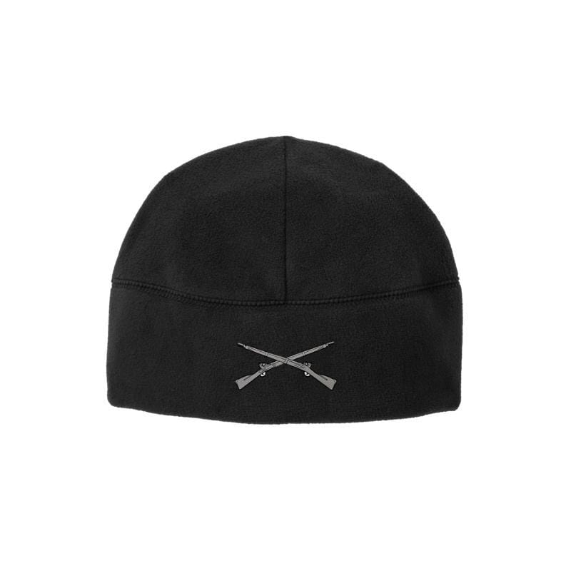 Crossed Rifles Soft Fleece Beanie