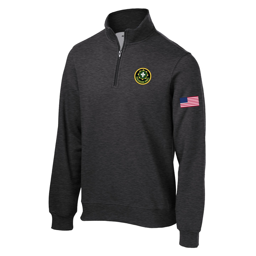 2nd Cavalry 1/4 Zip sweatshirt