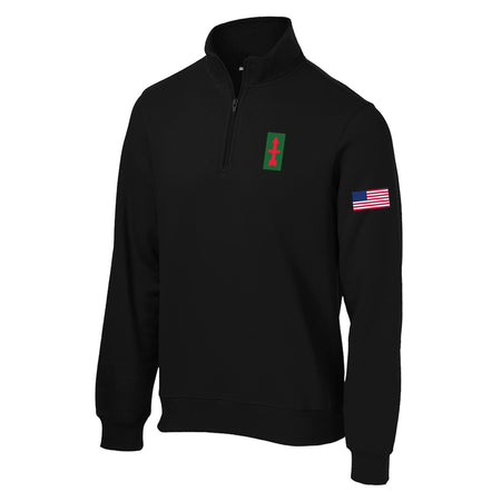 32nd Infantry Division 1/4 Zip Sweatshirt