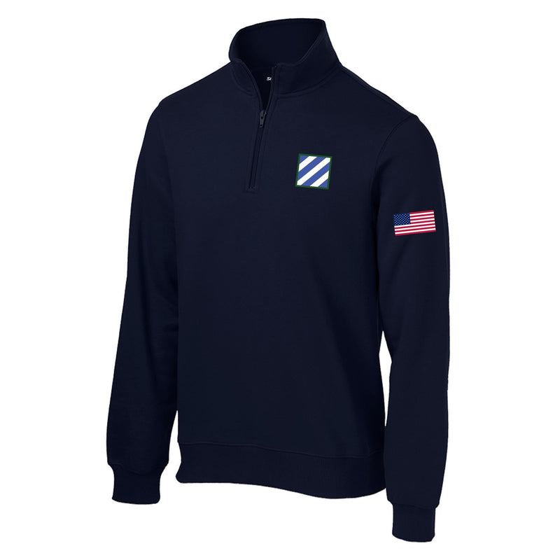 3rd Infantry 1/4 Zip Sweatshirt
