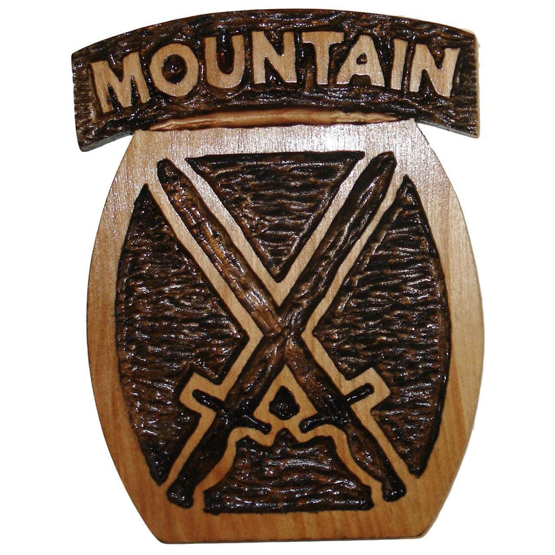Hand Carved 10th Mountain