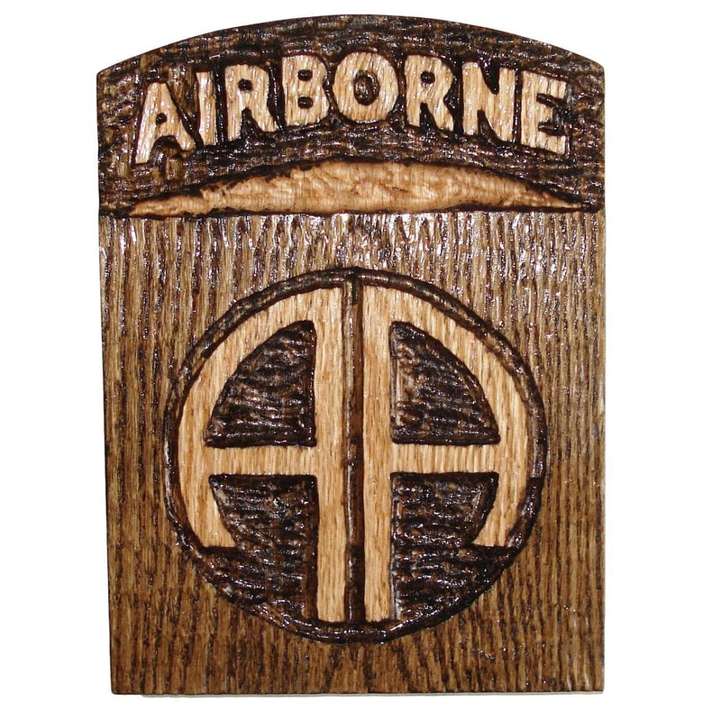 Hand Carved 82nd Airborne