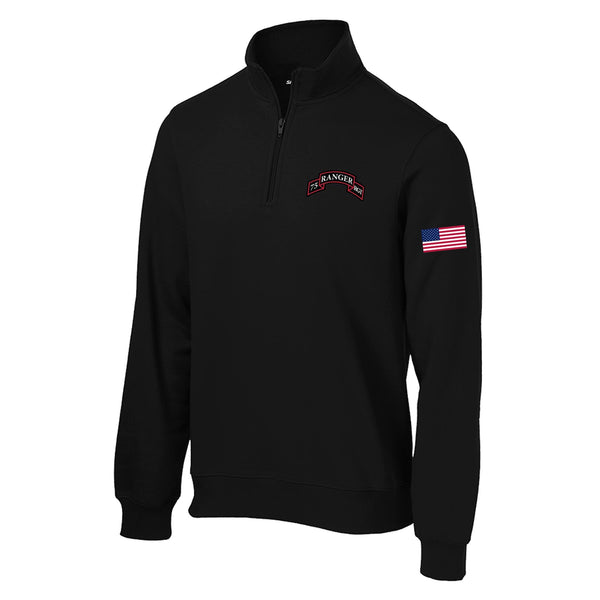 75th Ranger Regiment 1/4 Zip Sweatshirt