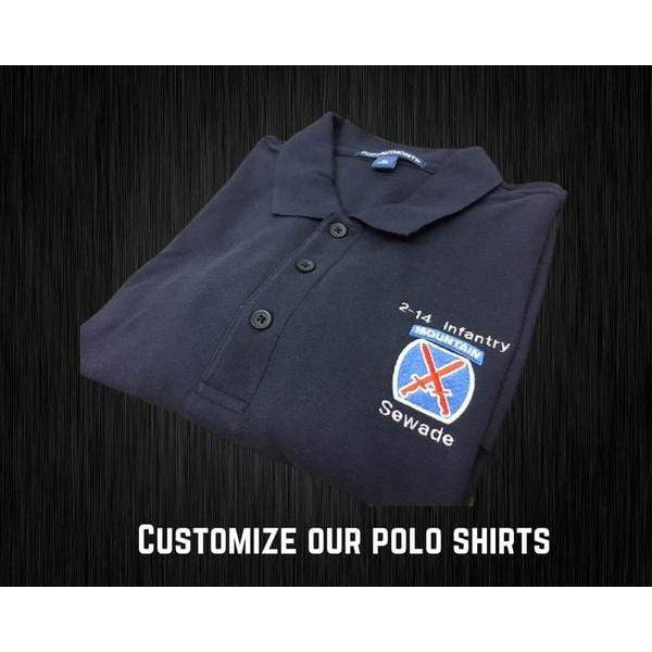 Moisture Wicking Crossed Rifles Polo