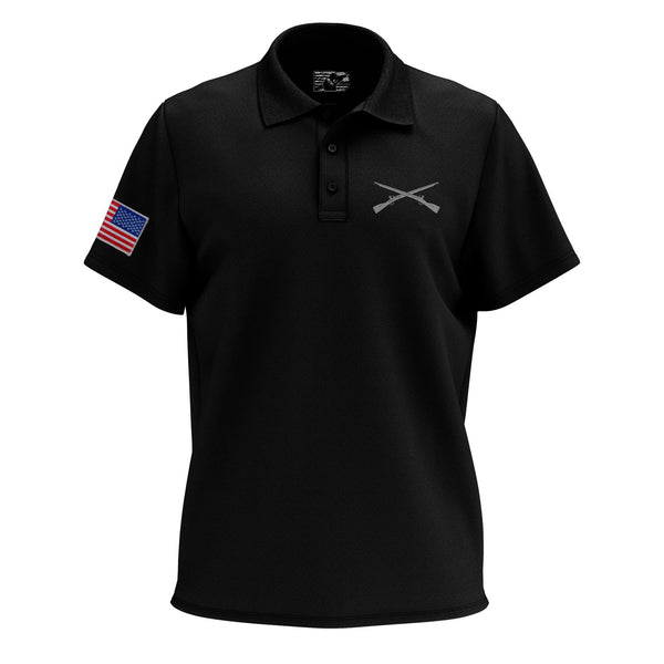 Crossed Rifles Polo Shirt