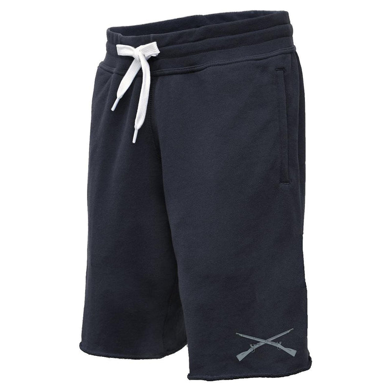 Crossed Rifles Sweatshorts