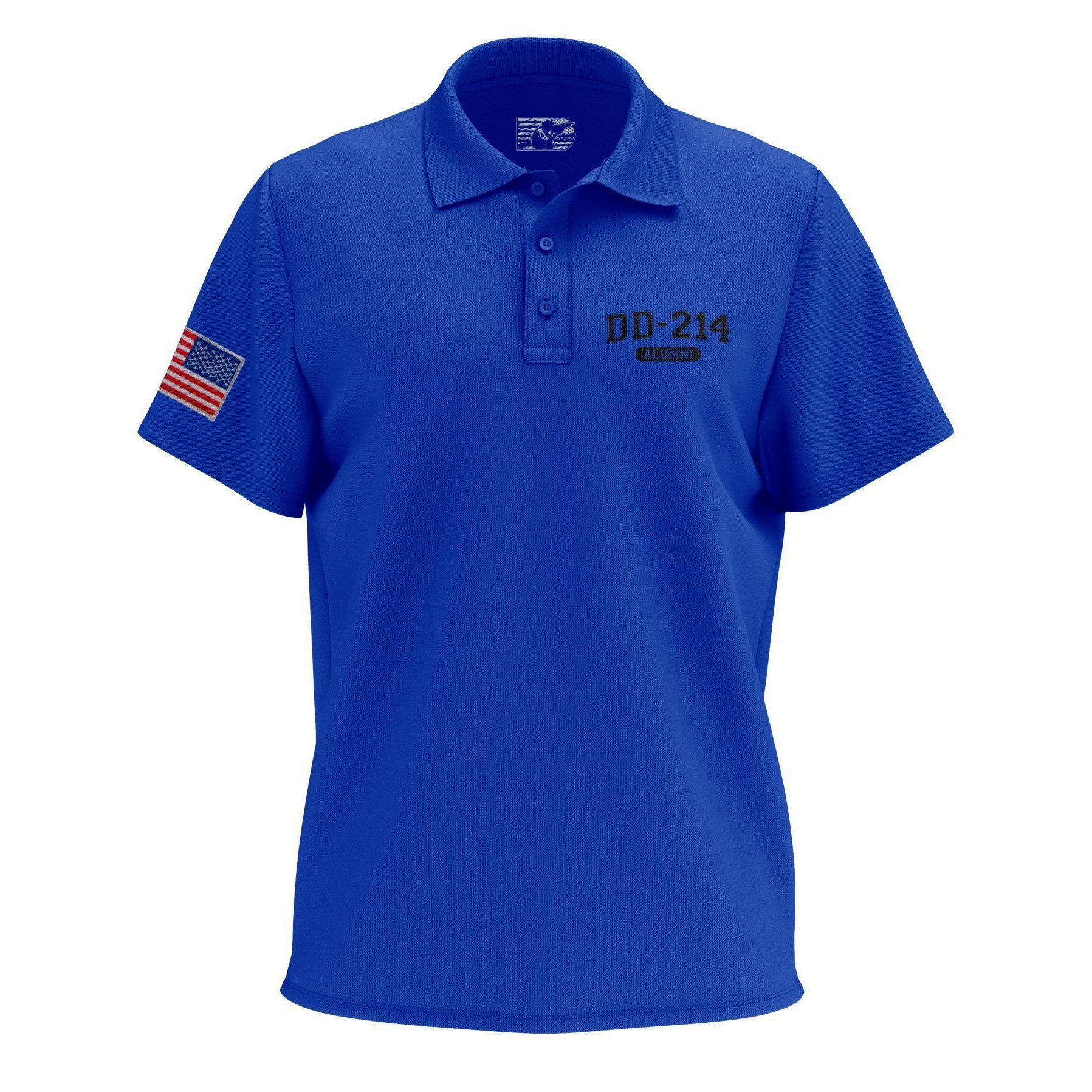 Army Veteran 29th Infantry Division Mens Regular-Fit Cotton Polo Shirt Short Sleeve U.S