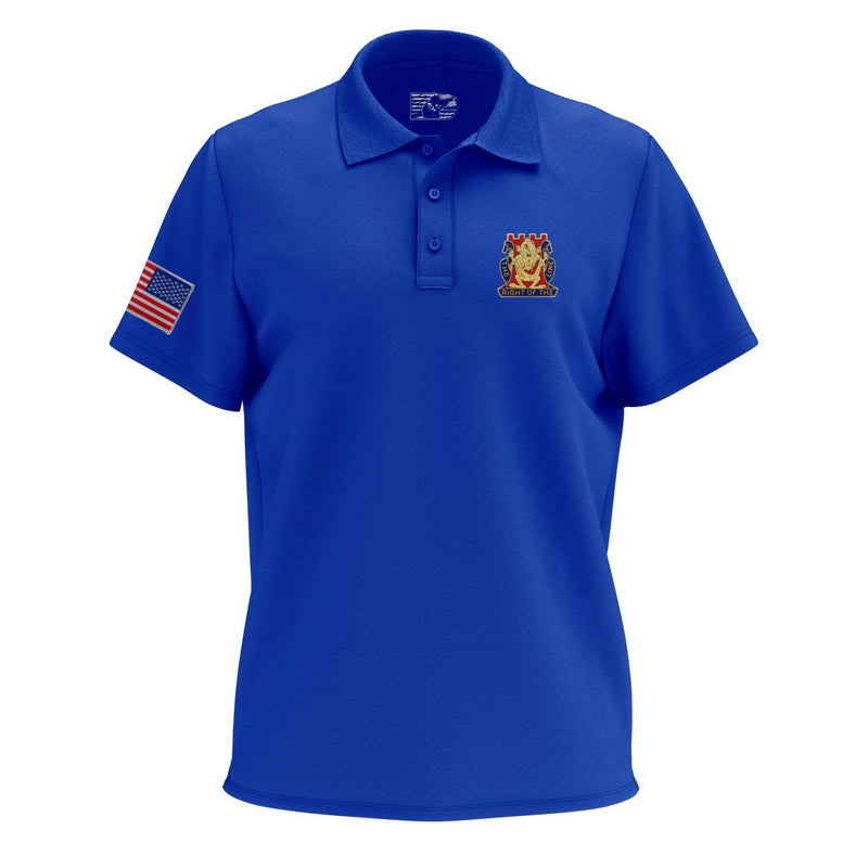 Golden Dragons Embroidered Moisture Wicking Polo