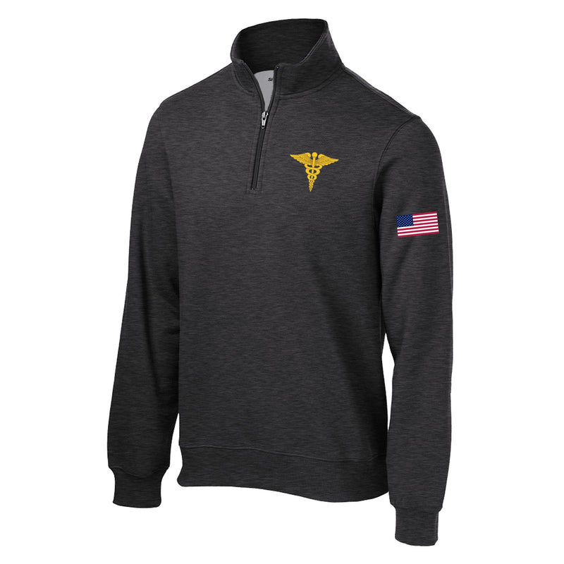 Medical Corps 1/4 Zip Sweatshirt