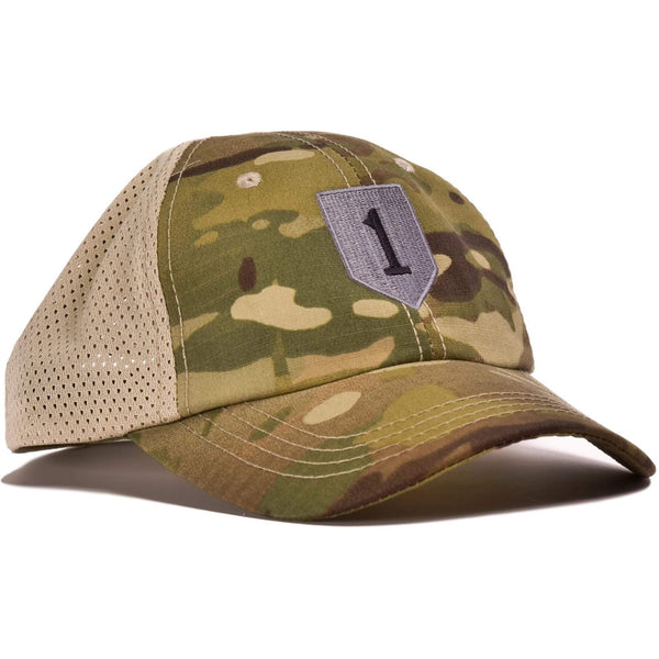 1st Infantry Multicam Mesh Back Hat
