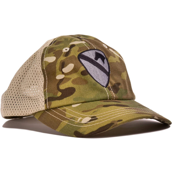 1st Cavalry Multicam Mesh Back Hat