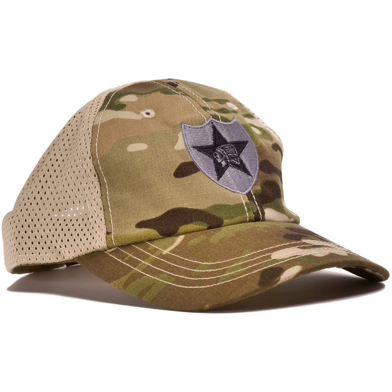 2nd Infantry Multicam Mesh Back Hat