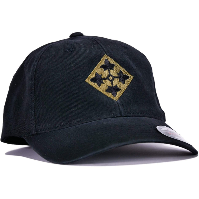 Black 4th Infantry Flexfit® Hat