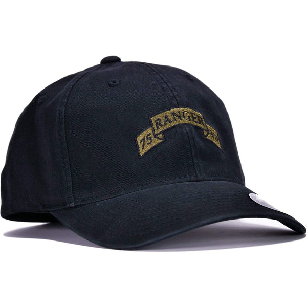 Black 75th Ranger Flexfit® Hat
