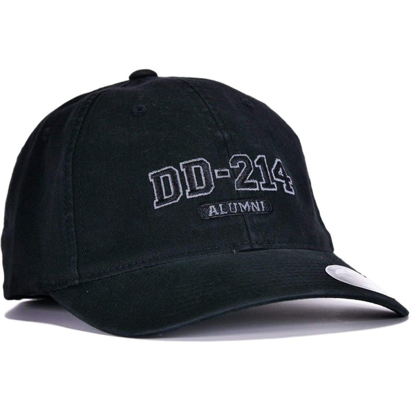 Black DD-214 Flexfit® Hat