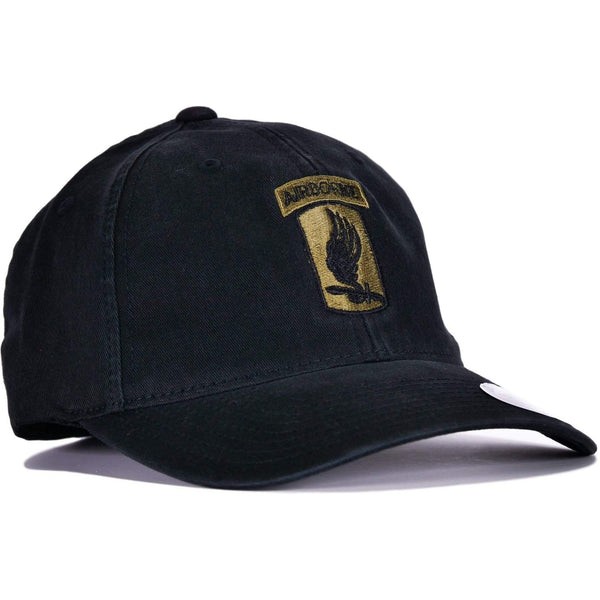 Black 173rd Airborne Flexfit® Hat