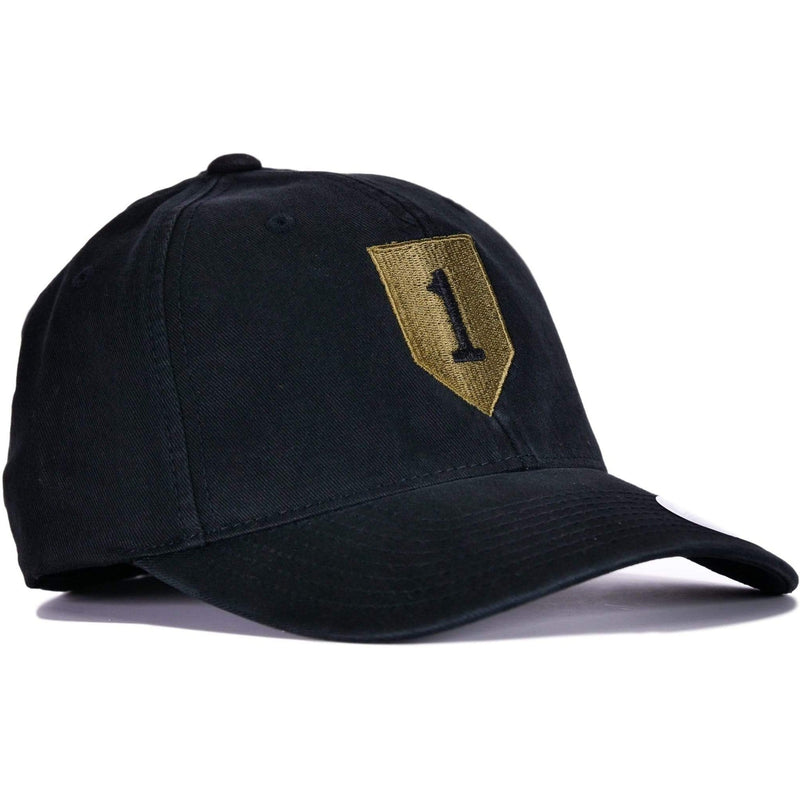 Black 1st Infantry Flexfit® Hat