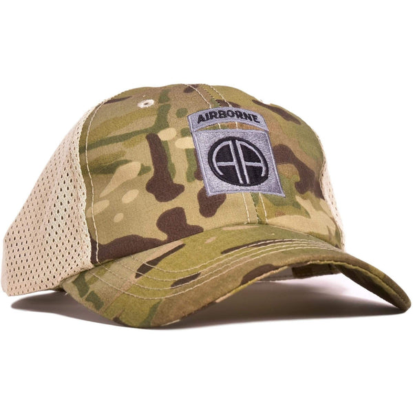 82nd Airborne Multicam Mesh Back Hat