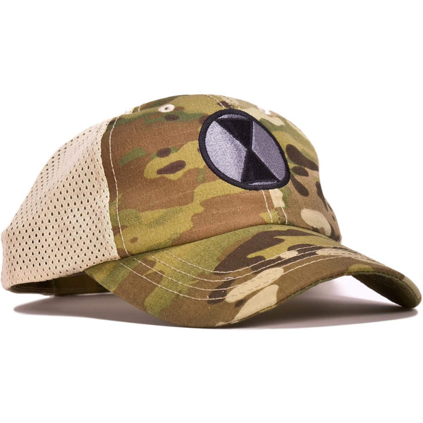 7th Infantry  Multicam Mesh Back Hat