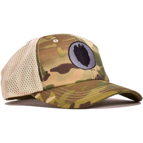 24th Infantry Multicam Mesh Back Hat