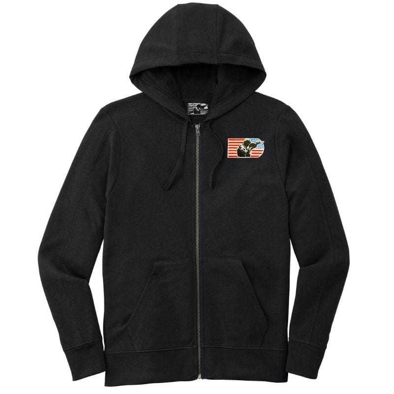 Men's Tri-Blend Wicking Fleece Full-Zip