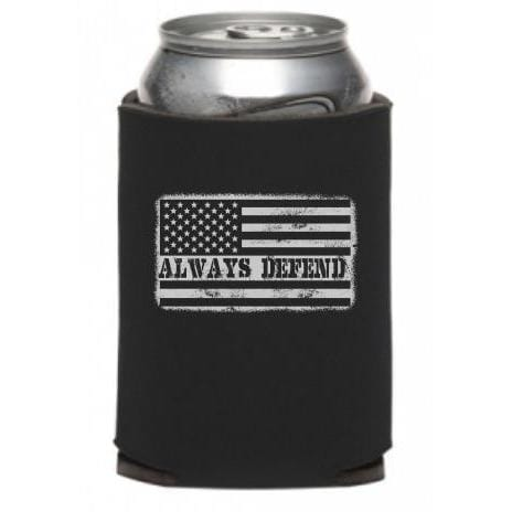 Always Defend Can Cooler