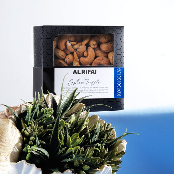 Al Rifai Cashew Truffles Box - Black Edition
