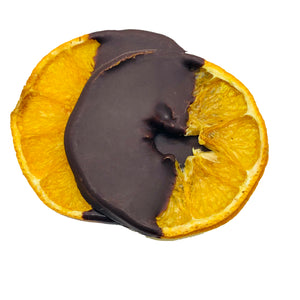 Al Rifai Bitter Crispy Organic Orange Dipped in Dark Chocolate