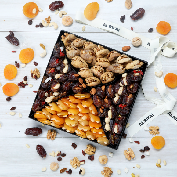 Selection of stuffed Dried Fruits Box