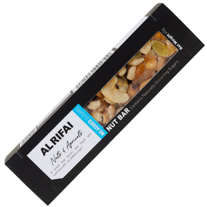 Nuts & Apricots Bar Sugar Free Black Edition