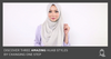 Discover Three New Hijab Styles By Changing One Step - Hijab Friday
