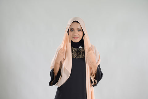How To Do An Easy And Elegant Shawl Style For Perfect Coverage Hijab Zolace