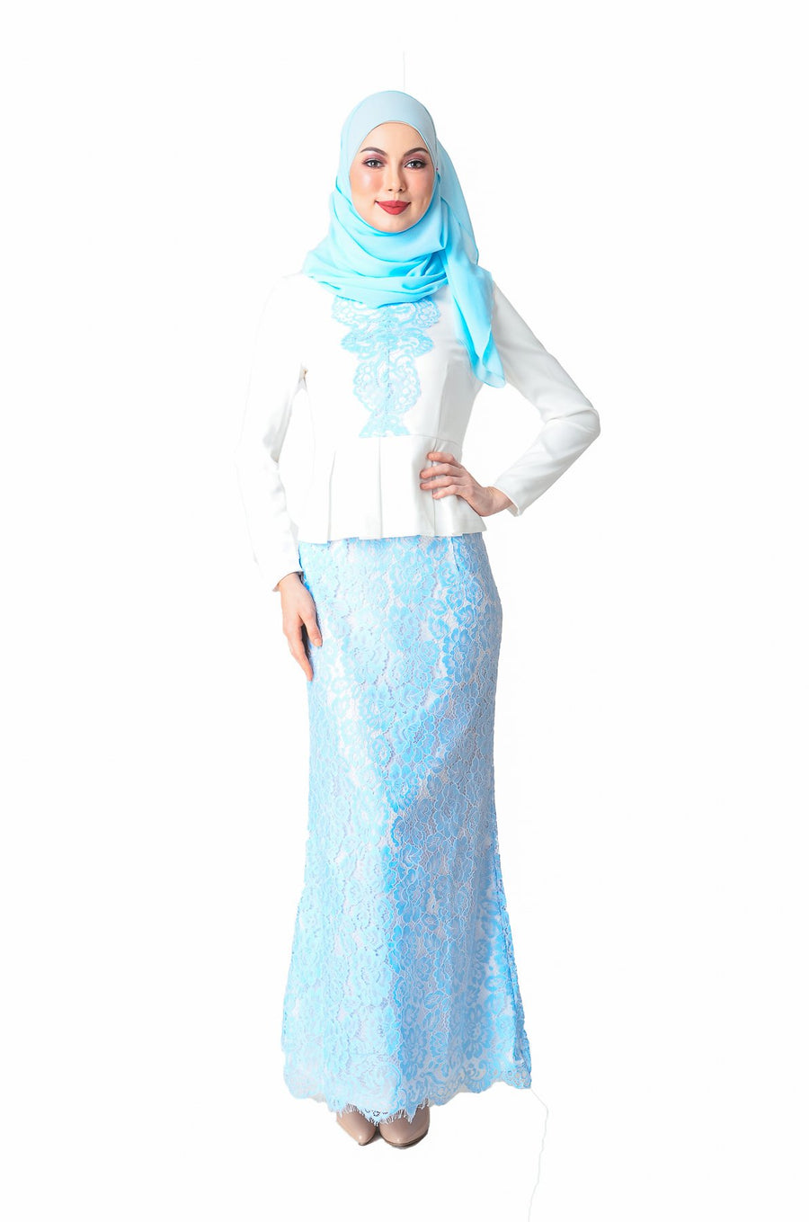 Online Baju Kurung, Blouse, Dress, Skirt Muslimah - Shipped
