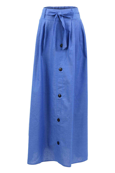 Front Row Fashionista Skirt Labuh in Light Blue