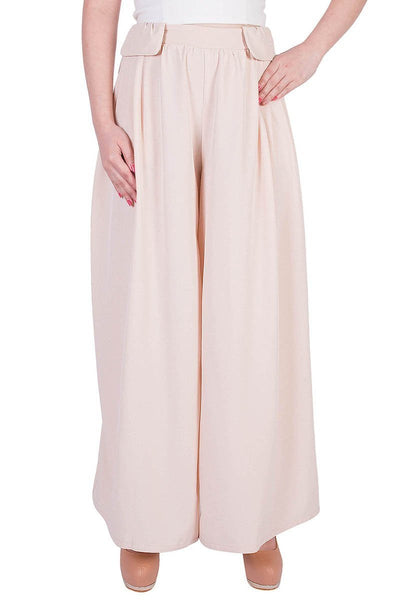 Luxuriously Laid-Back Palazzo Pants