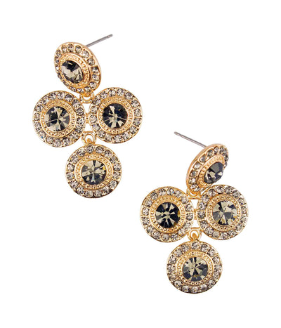 Starburst on the Scene Earrings Color:Gold