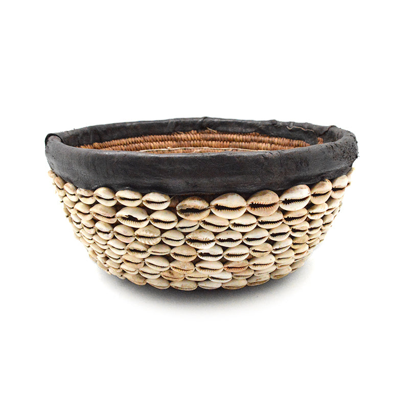 African Shell Basket