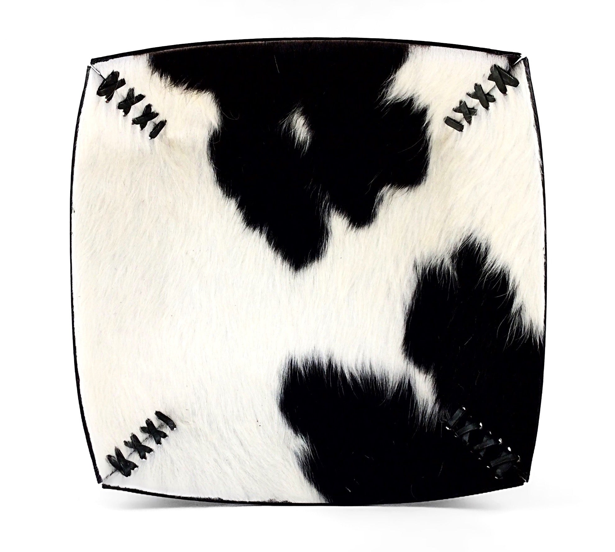 Stitched Cowhide Bowl