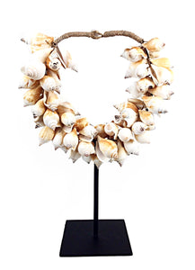 Mounted Shell Necklace
