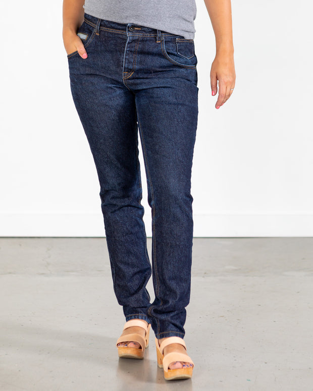 14.6 oz Raw Indigo Jeans